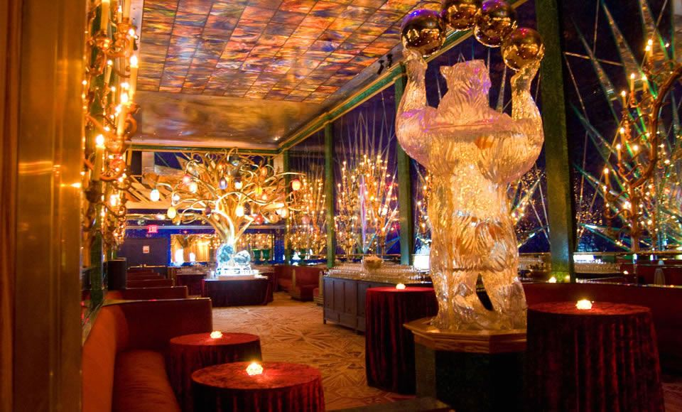 Gallery At The Russian Tea Room In New York- High tea at this ...