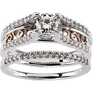Semi-Mount Engagement Ring or Band | Stuller.com