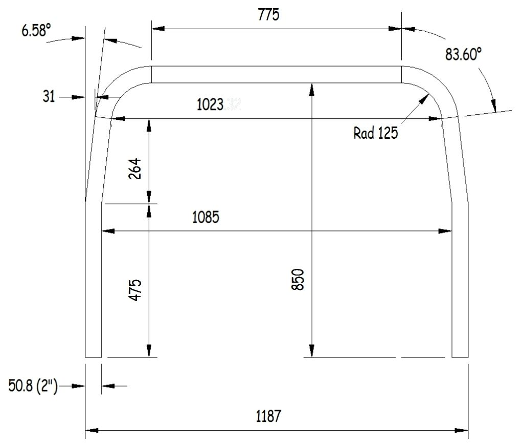 dimensions of a standard meyers manx roll bar dune buggy dimensions of a standard meyers manx roll bar
