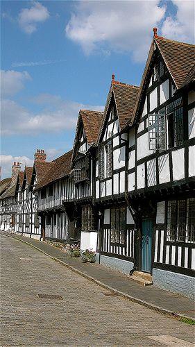 Tudor Houses in Warwick, England