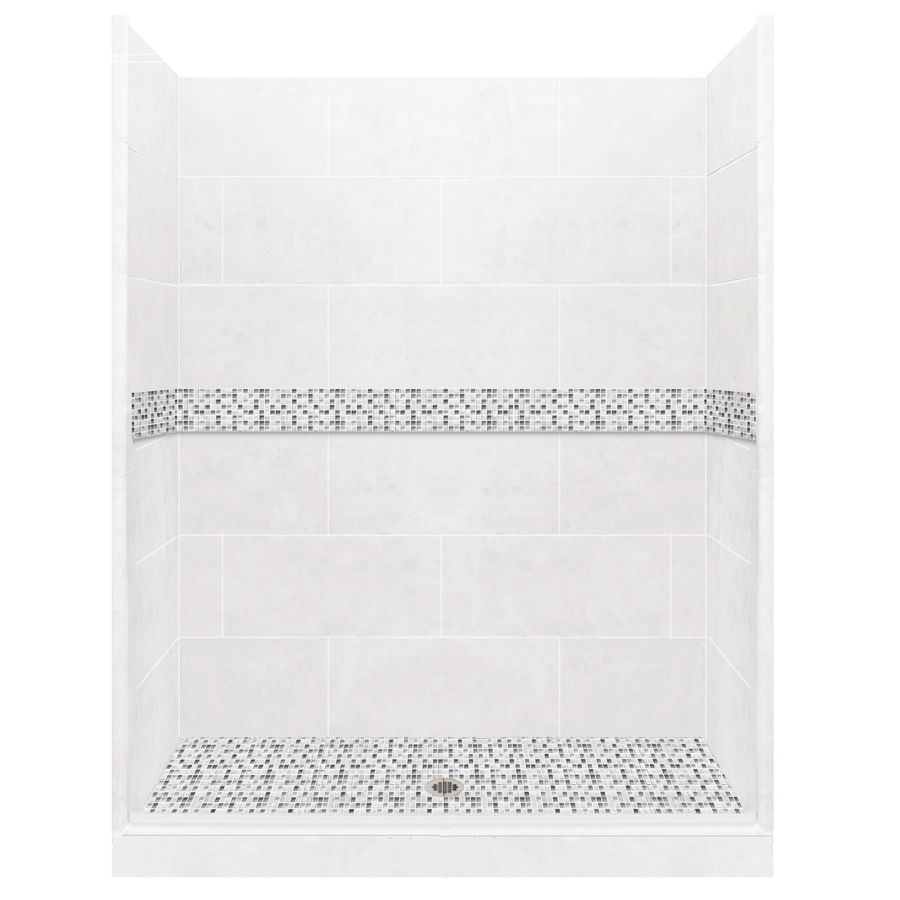 Picturesque Laguna Mosaic Tiles Solid Surfacewall Stone Composite Alcove Shower Kit American Bath Factory Laguna Light American Bath Factory Laguna Light Laguna Mosaic Tiles Solid