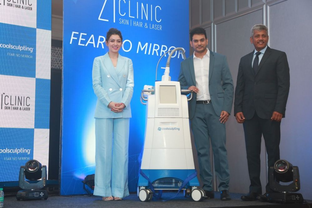 Actress Hansika inaugurate Zi Clinic Coolsculpting