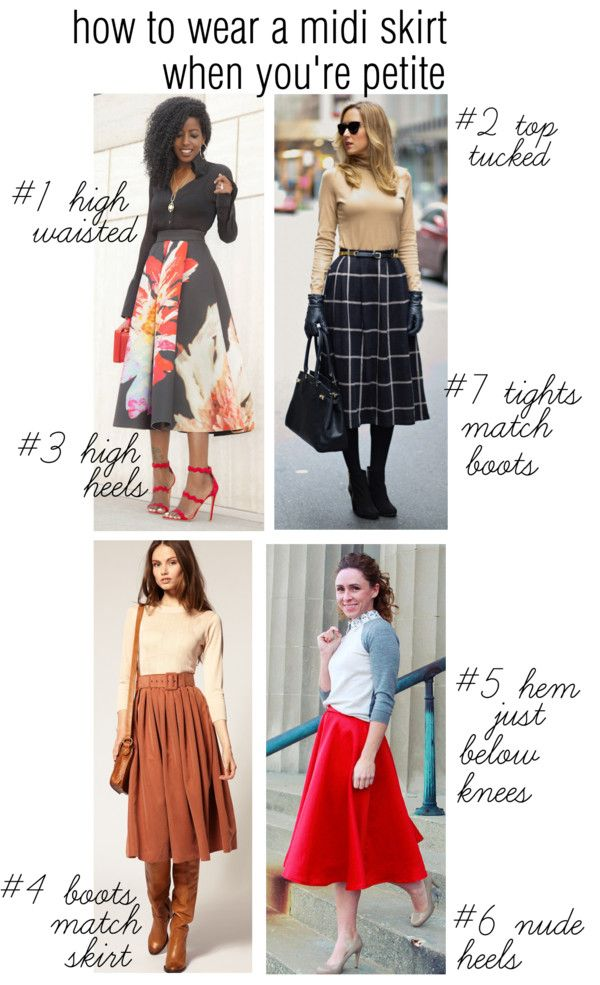 How To Wear A Midi Skirt When You Are Petite | Suzanne Carillo ...