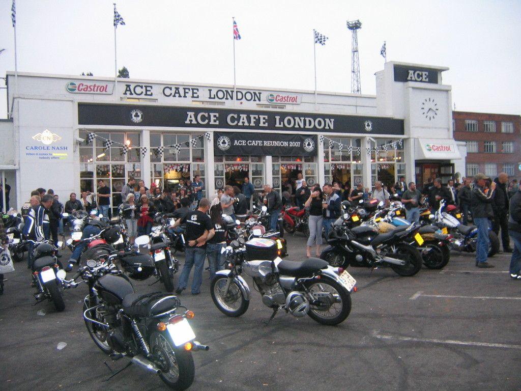 Ace Cafe London Triumph Cafe Racer Cafe Racer Style Cafe