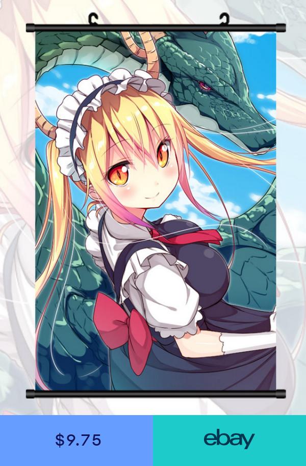 Anime Poster Miss Kobayashis Dragon Maid Tohru Home Decor
