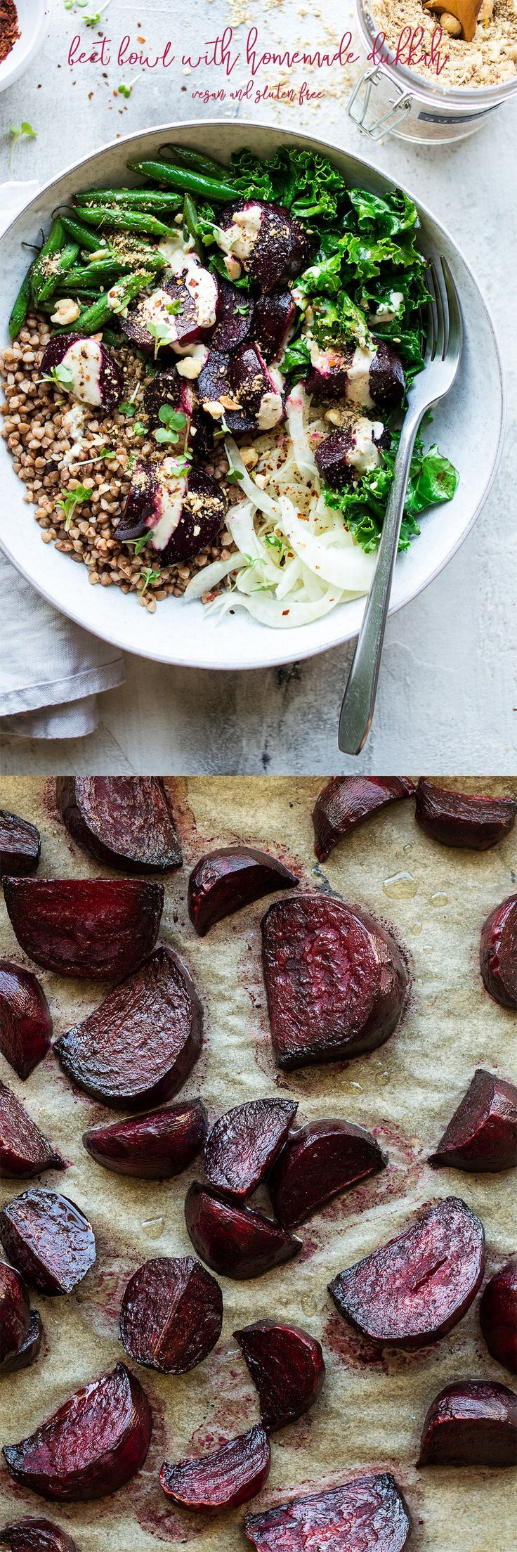 Roast Beetroot Bowl With Dukkah