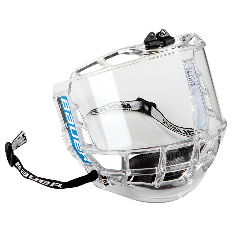 Bauer Concept 3 Sr Full Shield Hockey Helmet Full Face Clear Face Mask