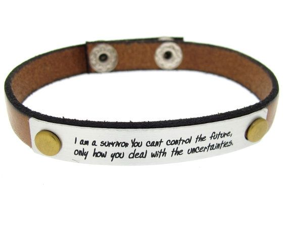 5de5776a8c6 Boyfriend Gift Inspirational Quote Bracelet for men by MensGift ...