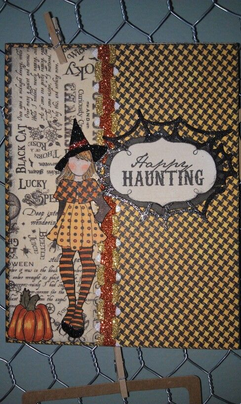 Little Miss Witchy Poo, card created by Jamie Childress