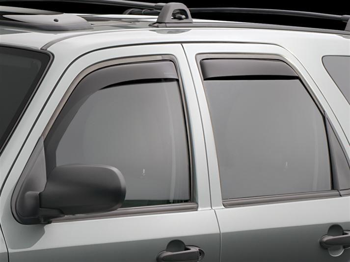 2005 Ford Escape Weathertech Side Window Deflectors Rain Guards Wind Deflectors Weathertech Com Cars Trucks Suv Cars Window Deflectors