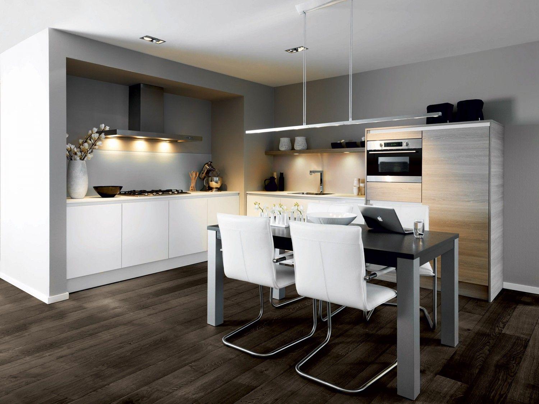Grijze Keukens Voorbeelden : Voorbeelden van een moderne hoekkeuken nieuwe keuken keuken