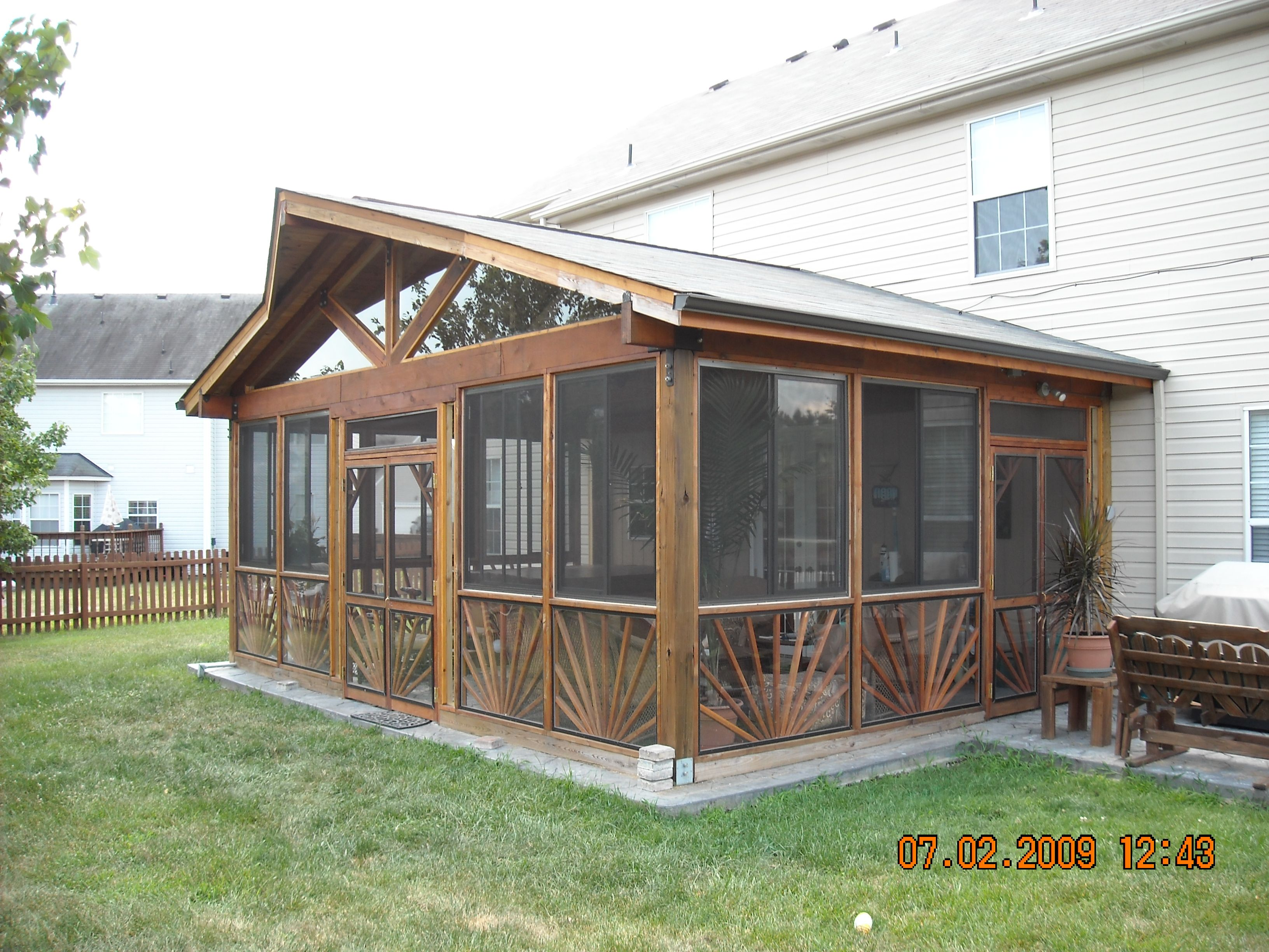 Screened in porches screened in porch kit patios and for Screen porch screen