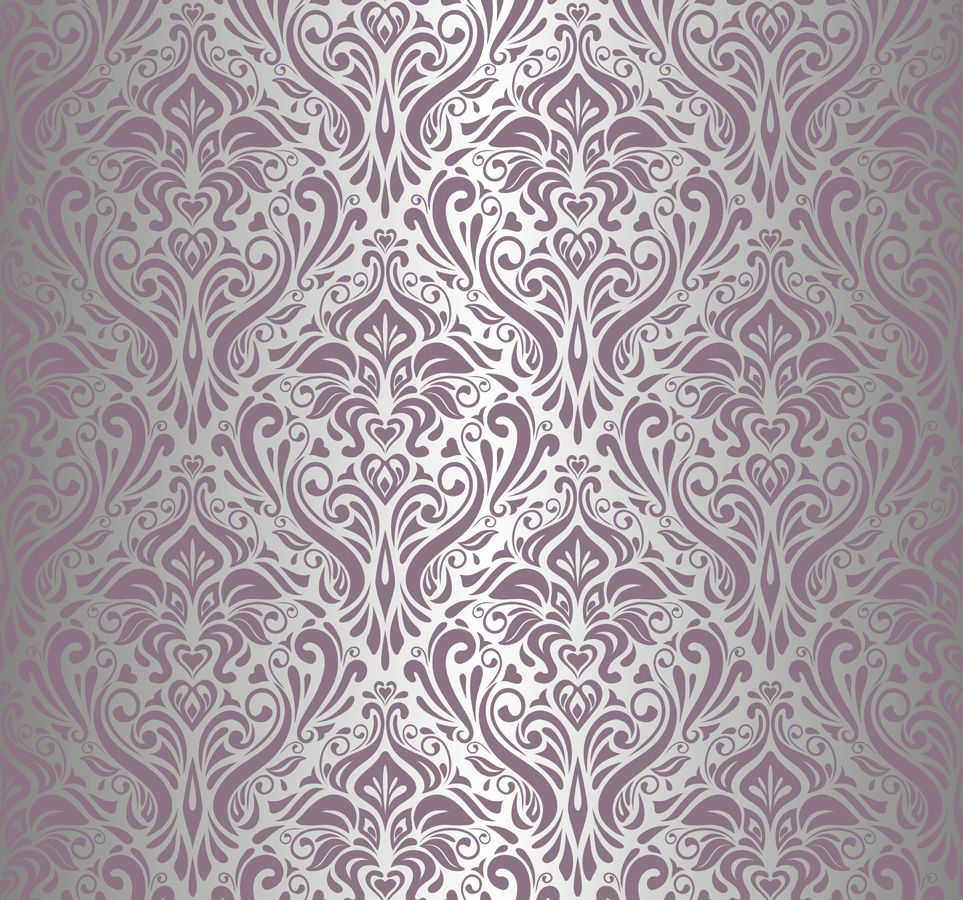 Silver And Purple Background
