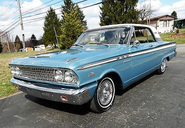 Ford Fairlane 500 1963 Ford Fairlane 500 Arizona Car 260 V 8 Automatic Ford Fairlane Fairlane 500 Fairlane