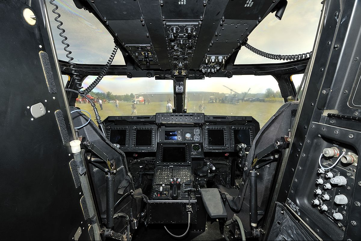 Mv 22 Osprey Cockpit Image Military Aircraft Cockpit Aviation