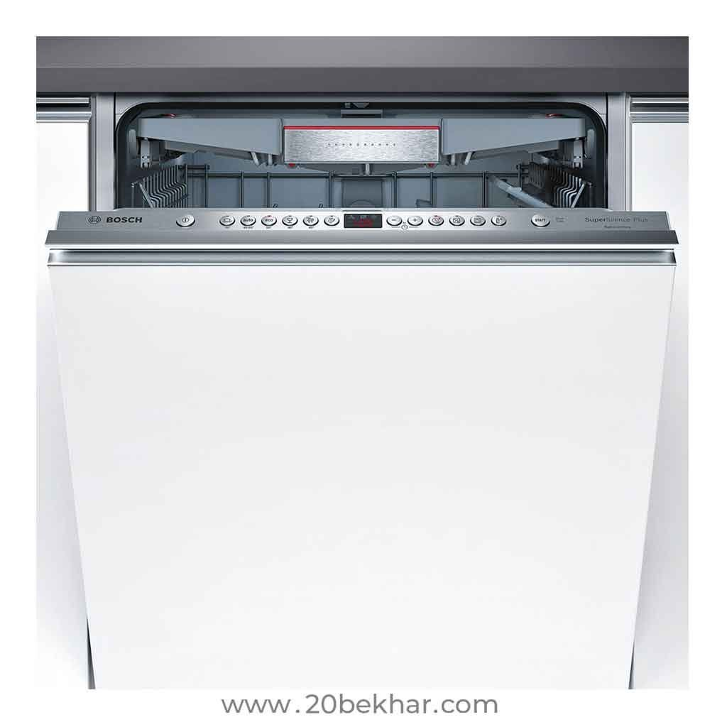 Bosch Built In Dishwasher 14 Place Series 6 Smv69m00ir Built In Dishwasher Dishwasher Bosch
