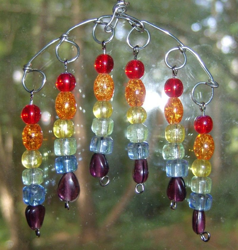 how to make wire beads and stone crafts
