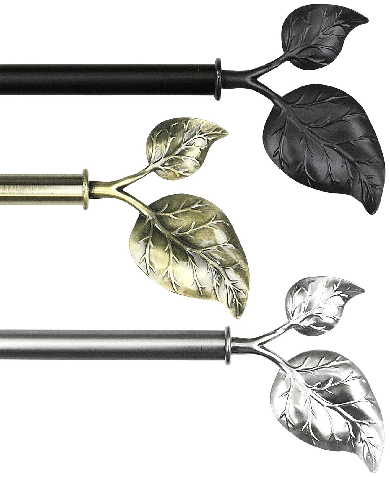 Rod Desyne Ivy 48 84 Rod Curtain Rods Hardware For The Home