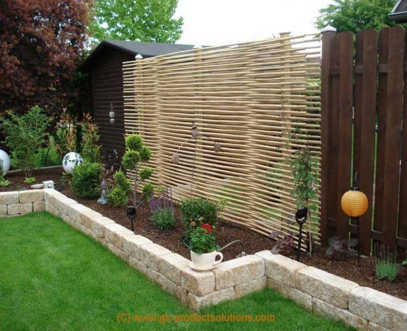 Gartengestaltung Modern Sichtschutz Flashzoom Best Garten Ideen