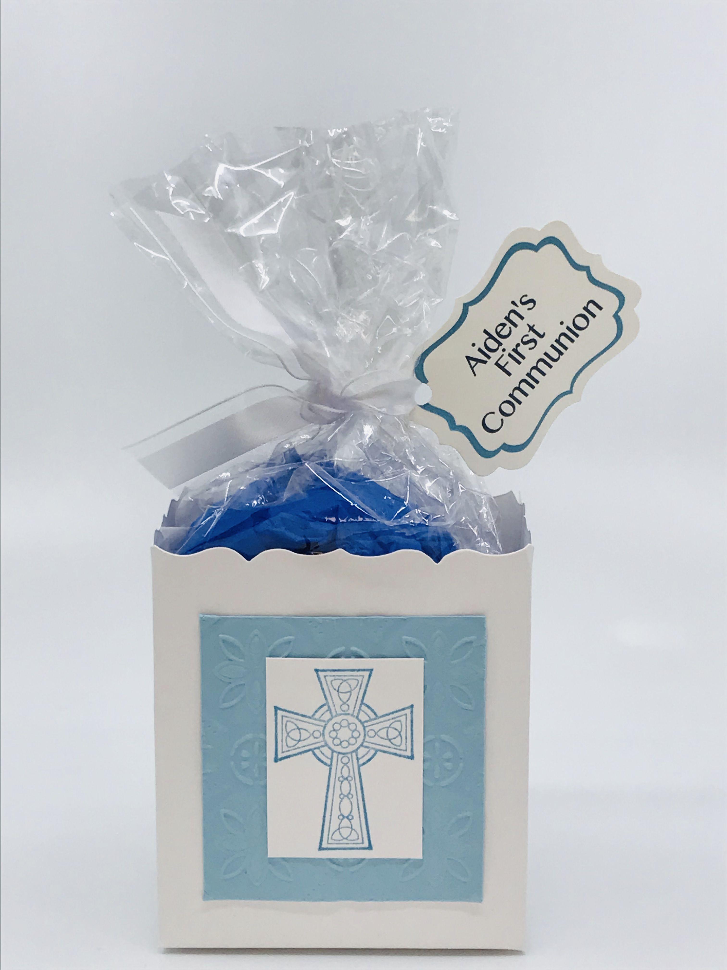 12 Grey Handmade Communion Christening Cupcake Favour Gift Boxes