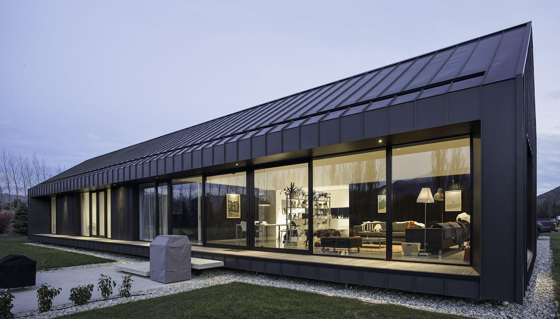 Ebbinge House Dravitzki Brown Architecture Roof Cladding Modern Barn House