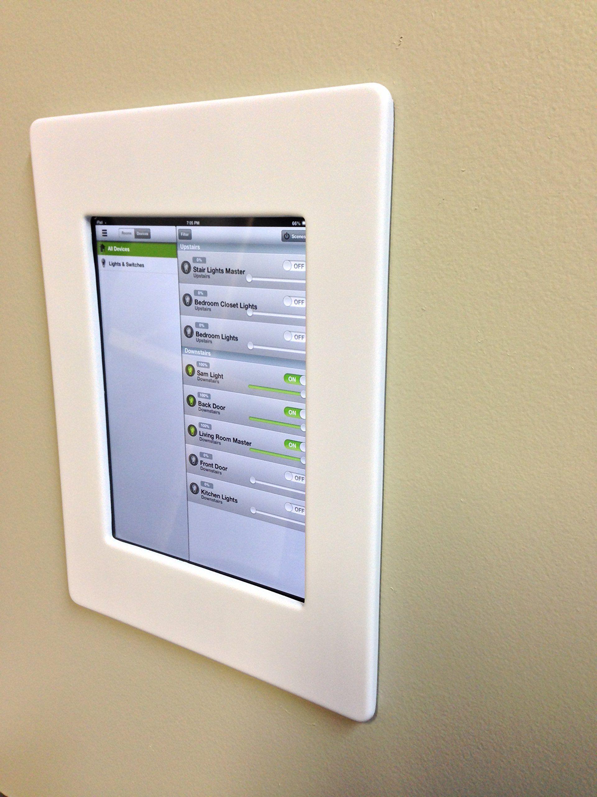Amazon.com: iPad Mini Wall Mount - White: Computers & Accessories ...