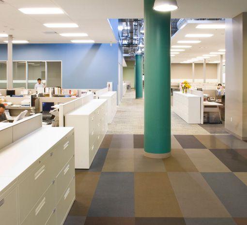 Gensler | Beckman Coulter in Brea, CA | Office | Commercial flooring