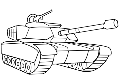 Pin On Tanks Coloring Pages
