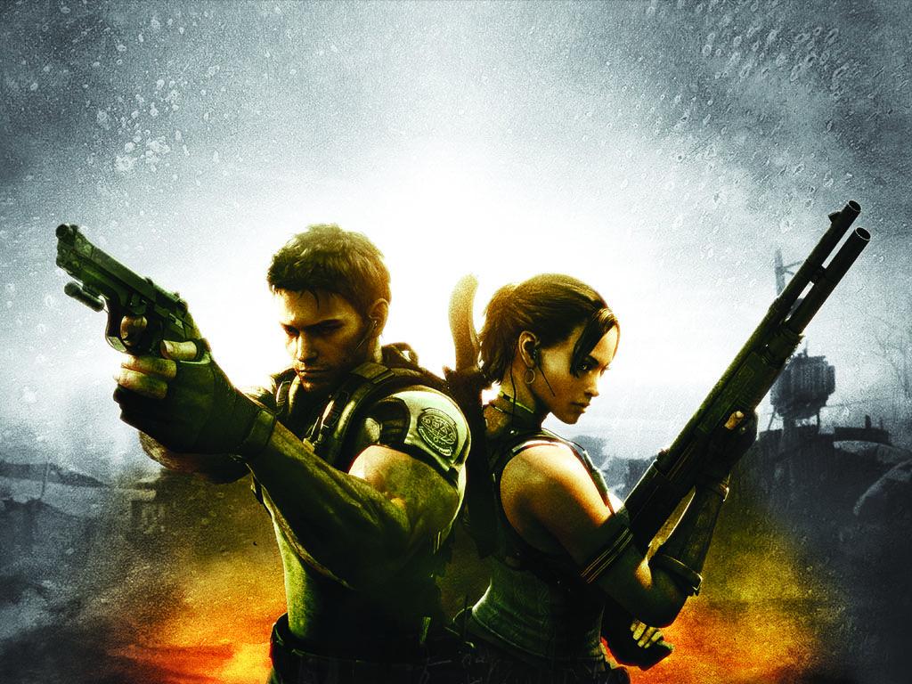 Chris Redfield Sheva Alomar Resident Evil 5 Resident Evil
