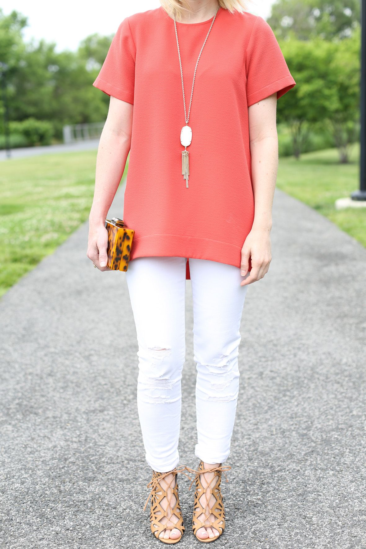 White jeans for spring via poorlilitgirl poor little it girl