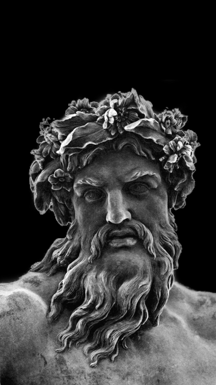 Greek Statue Aesthetic Wallpaper