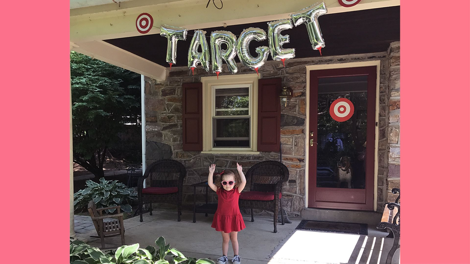 This girl requested a 'Target' birthday party —and her mom