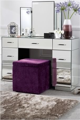 Svet Moj Zerkalce Skazhi Mirrored Bedroom Furniture Beauty Room Vanity Dressing Table Vanity