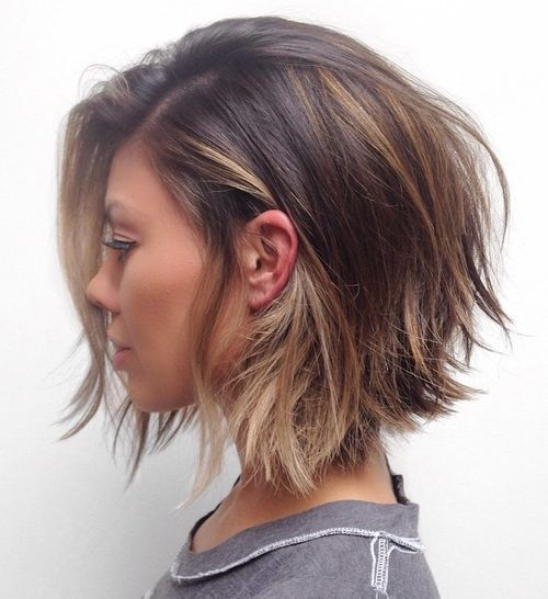 Bob Hairstyle 38 Perfectly Imperfect Messy Hairstyles For All Lengths  Pinterest