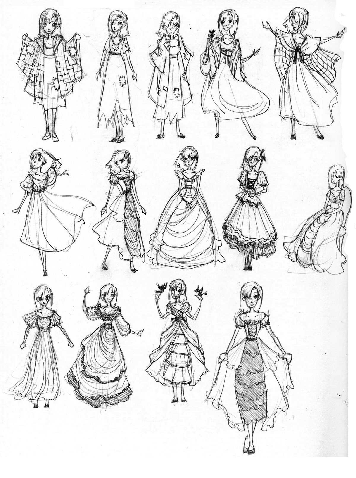 Princess dress designs