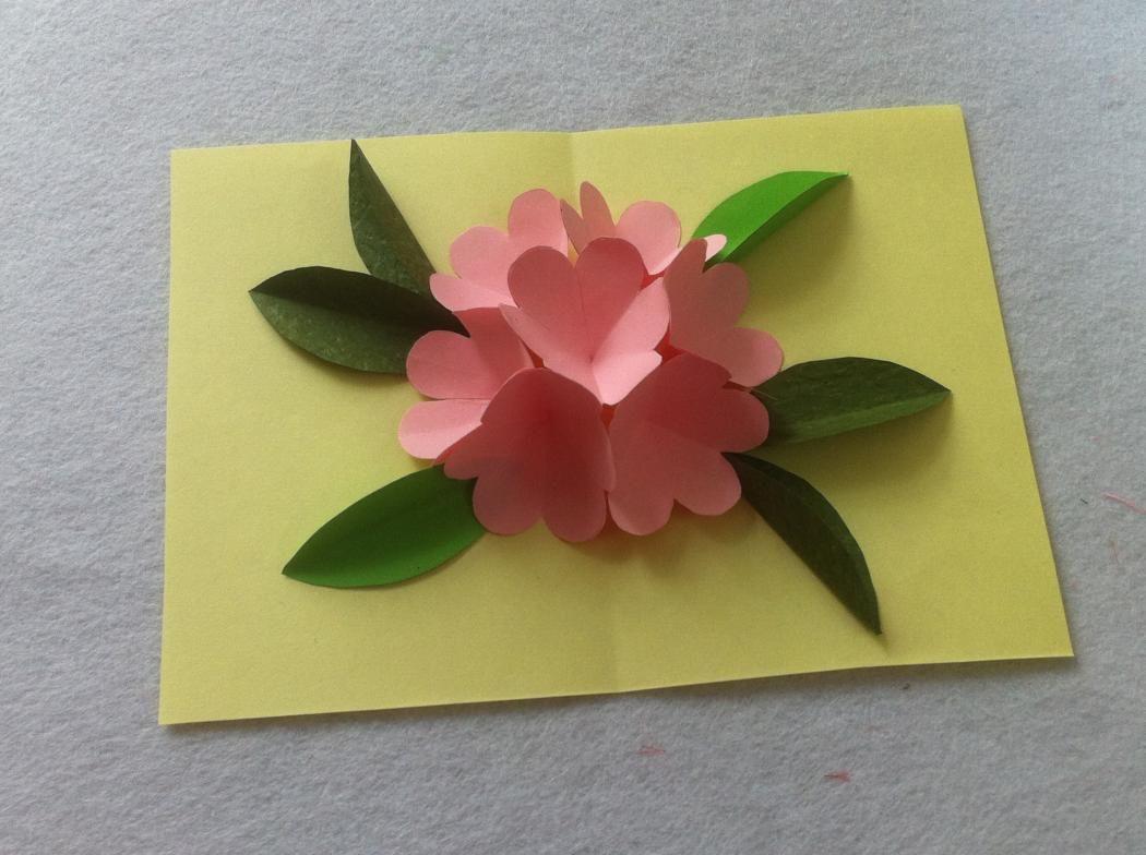 Открытка на день матери видео с раскладными цветами, поздравления днем
