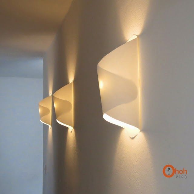 Papierne Wandlampe Zum Selbermachen
