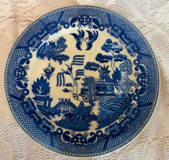 Pin By Linda Kadas On Transferware Other Old China Blue Willow