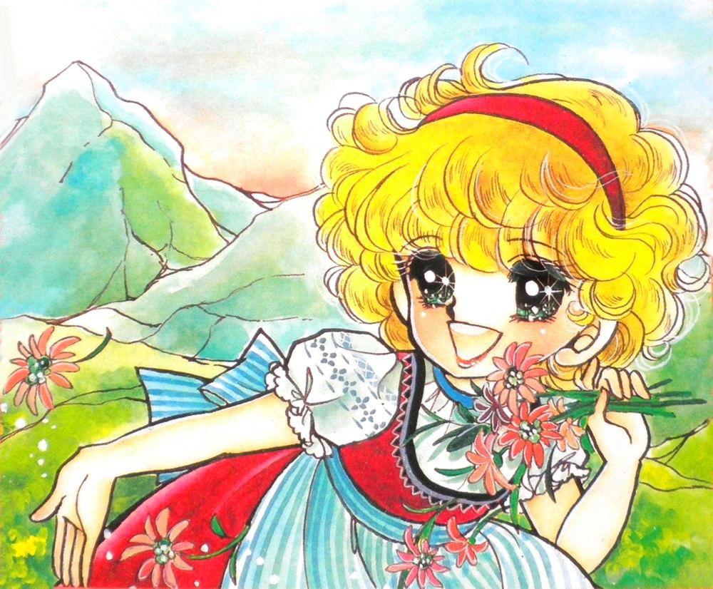 Heidi by fumie soda anime et manga art dessin fille anime et art - Haidi dessin anime ...