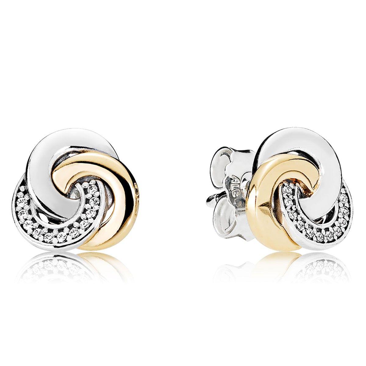orecchini oro pandora