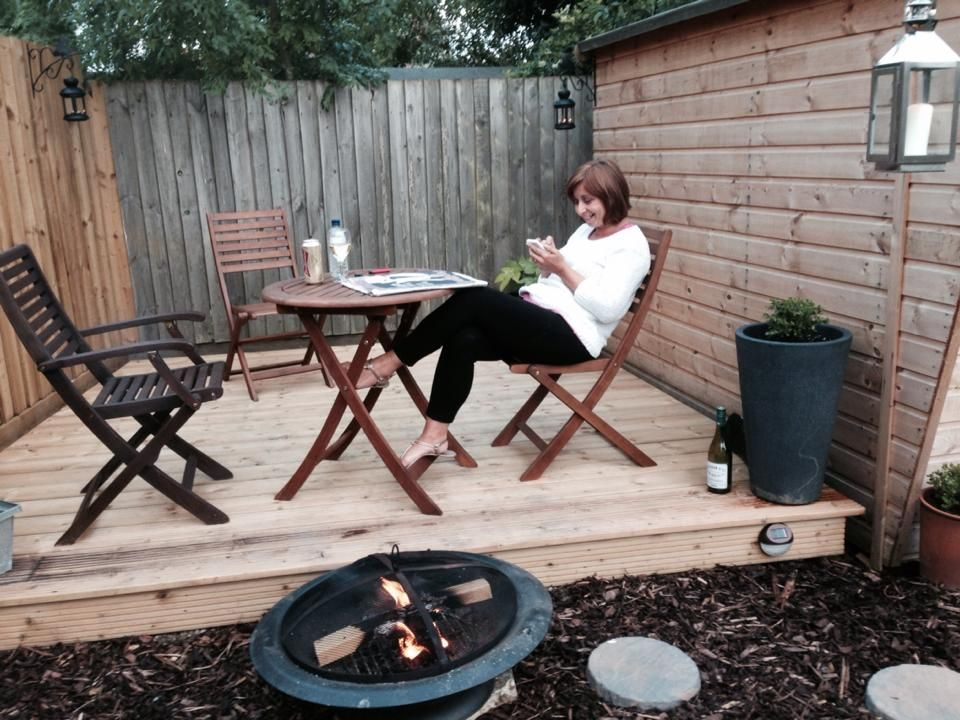 my new decking in #awesomeaugust