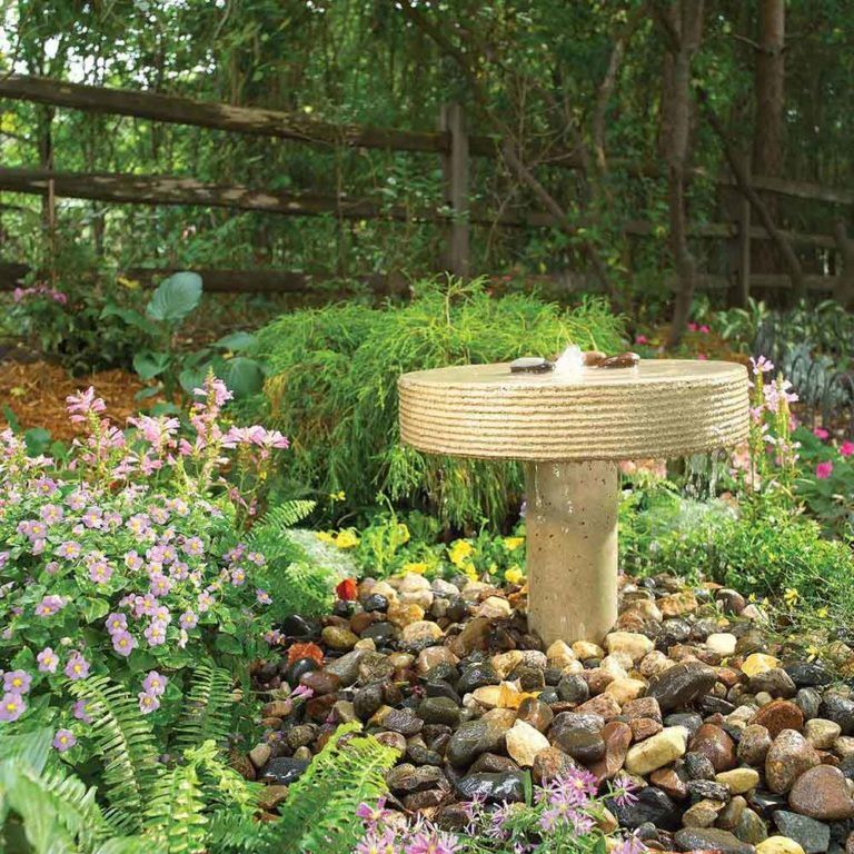 Pond, Fountain and Waterfall Projects You Can DIY | Diy ...