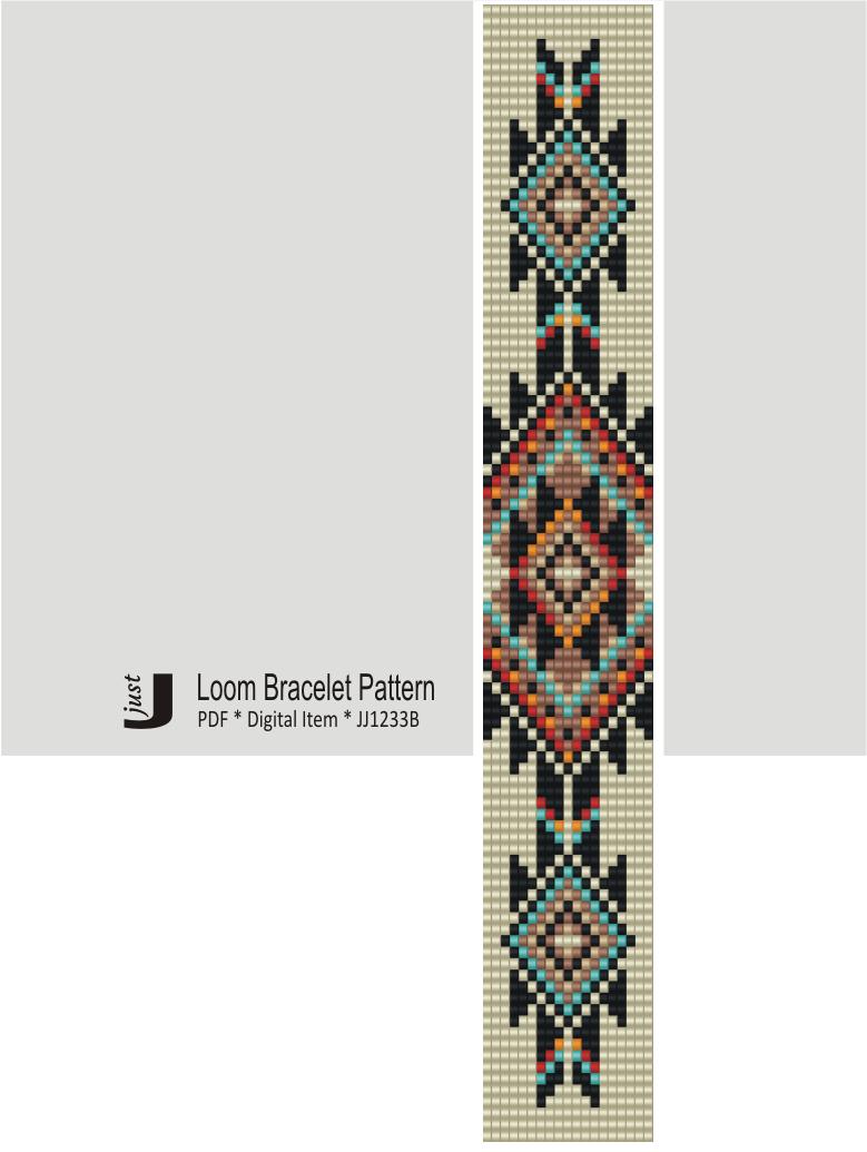 Brick stitch pattern for seed bead earrings Digital PDF pattern Beading earrings  woman silhouette pattern Bead weaving PDF digital pattern