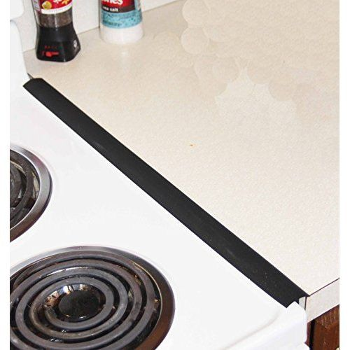 Capparis Kitchen Silicone Stove Counter Gap Cover Easy Clean Heat