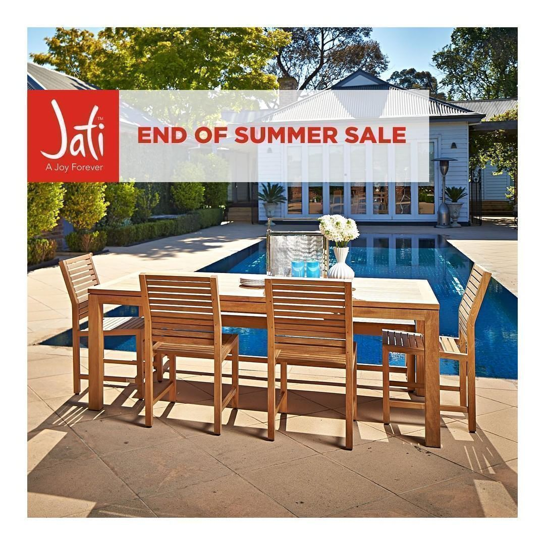 Our end of summer sale is on now make the most of this warm march weather with a beautiful teak outdoor furniture setting