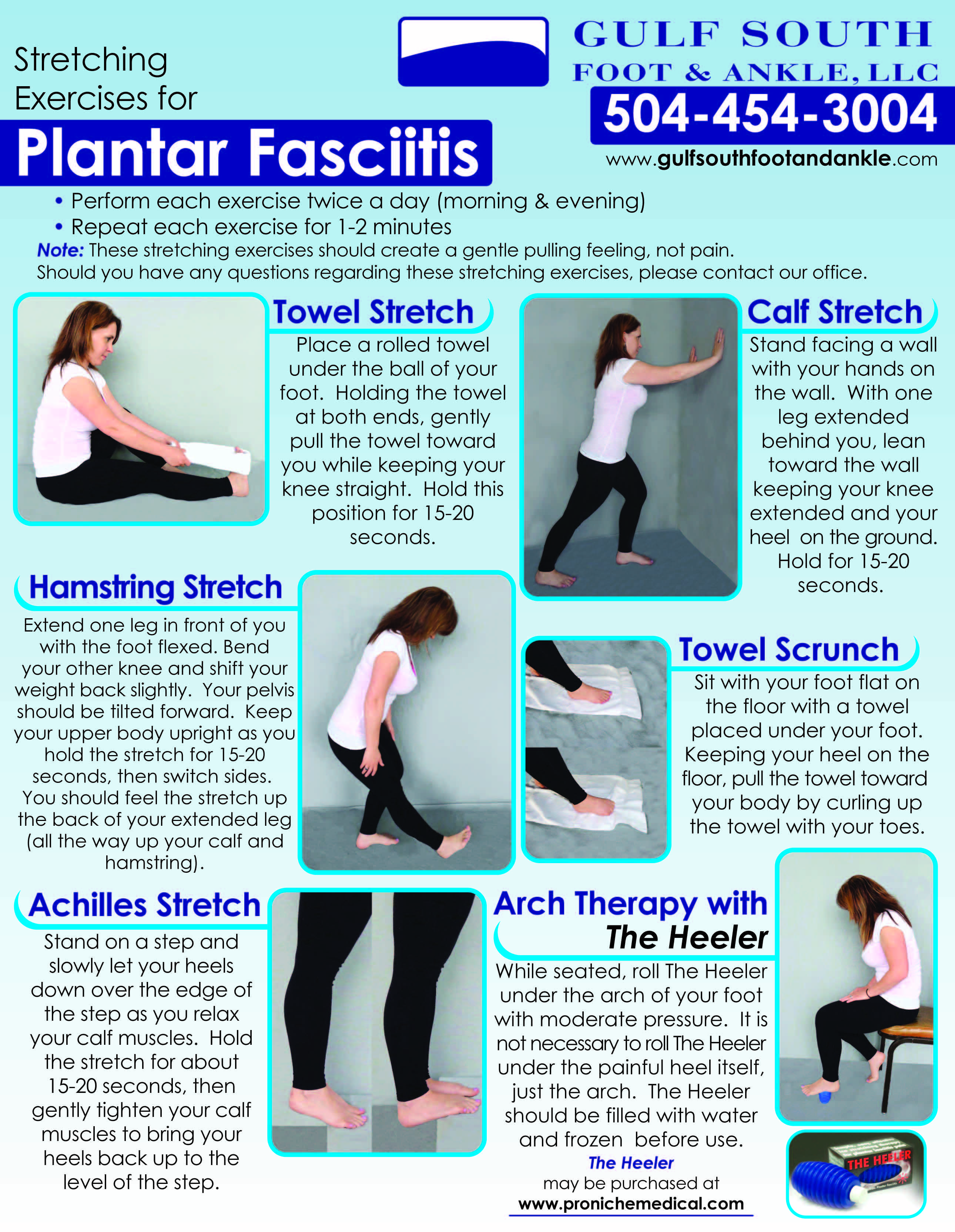 picture about Plantar Fasciitis Exercises Printable identified as plantar fasciitis workouts - Google Look PTs Plantar