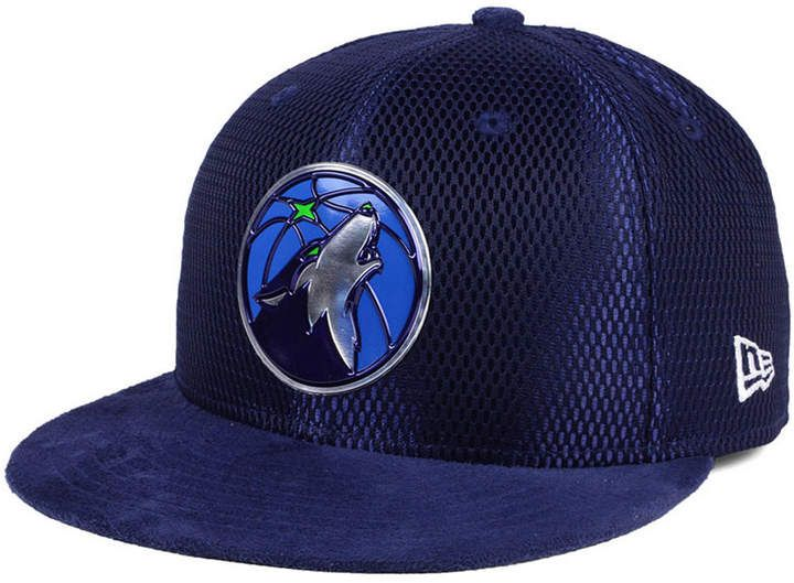 New Era Minnesota Timberwolves On-Court Collection Draft 59FIFTY Fitted Cap b35f00ebbe54