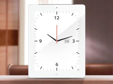 iPad App Quick Alarm Nightstand Clock Utilities