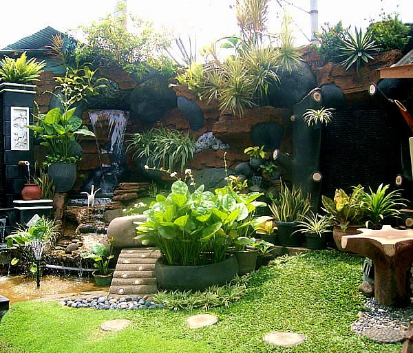 Tropical Home Garden Design Ideas: Small Tropical Garden Ideas For Home From Agit Landscape