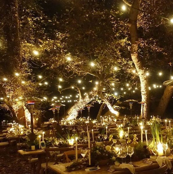 Bohemian Wedding Reception: Troian Bellisario's Beautiful Boho Wedding